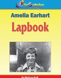 Amelia Earhart Lapbook $3.00-$24.29 Take a journey through time, and learn about Amelia Earhart and her strange disappearance with us! You will create a 3-folder Lapbook where you will document all of the fascinating information that you learn. http://www.theoldschoolhouse.com/product/amelia-earhart-lapbook/