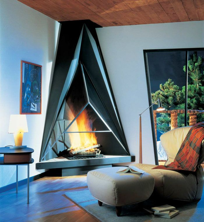 59 Of The Coolest Fireplaces Ever
