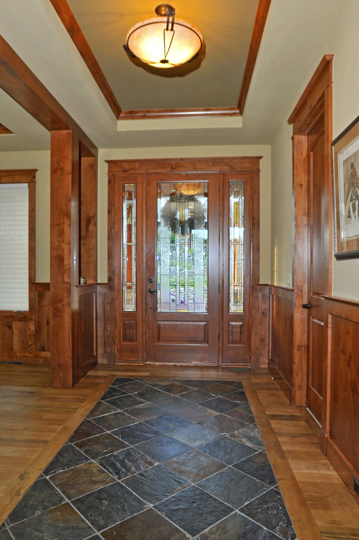 entryway fixtures and woodwork @ erinjohnsoninteriors   home