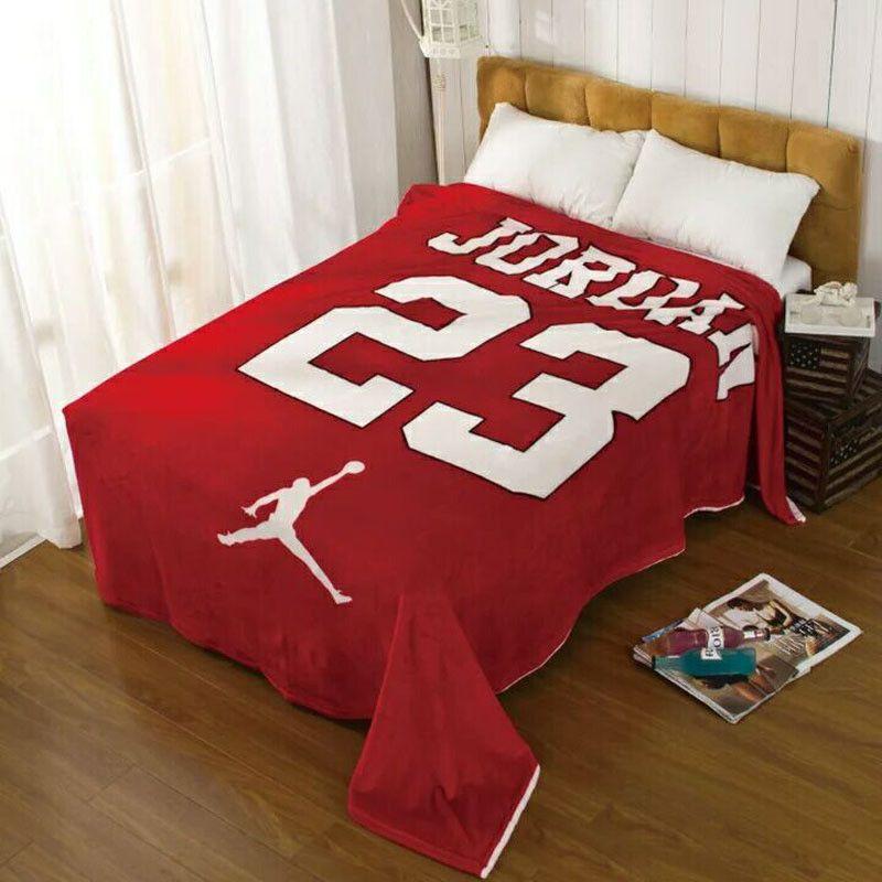 Details About New Jordan Blanket Soft Boys Super Soft Flannel Jordan