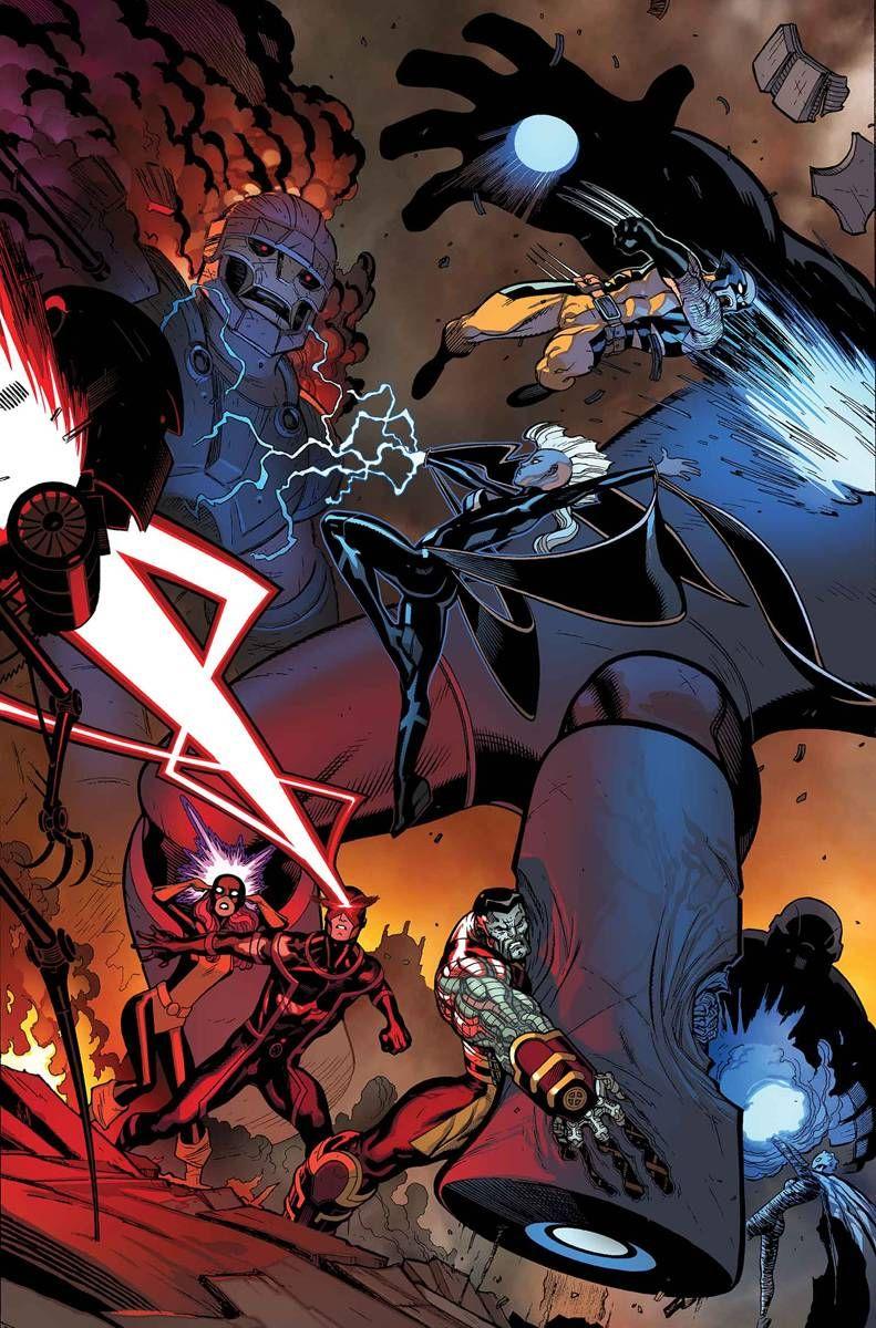 X-Men: Battle of the Atom #2 (of 2) (Virgin Cover) #Marvel #XMen #BattleOfTheAtom (Cover Artist: Ed McGuinness) On Sale: 10/30/2013