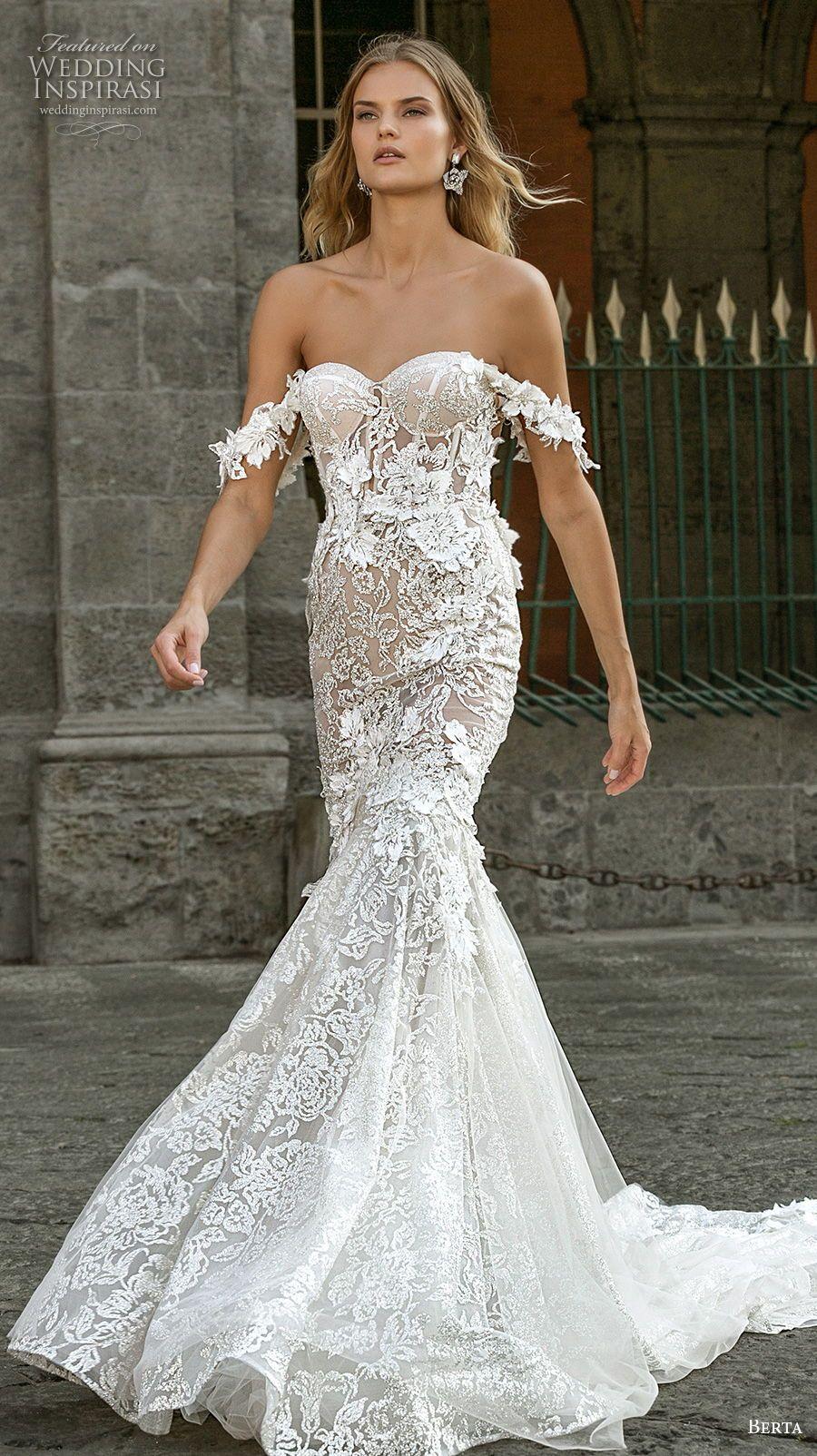 Berta Fall 2020 Wedding Dresses Napoli Bridal Collection Wedding Inspirasi Wedding Dresses Berta Wedding Dress Mermaid Wedding Dress [ 1604 x 900 Pixel ]