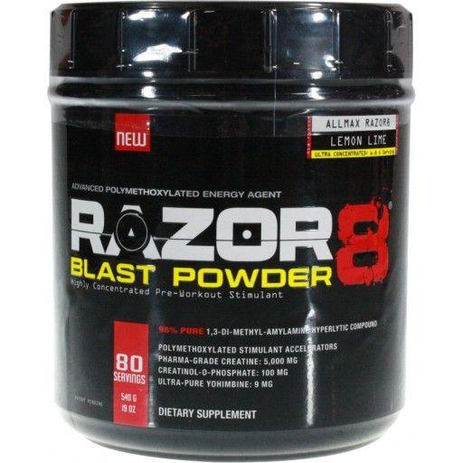 Razor8 Blast Powder Lemon lime Nutrition Lime