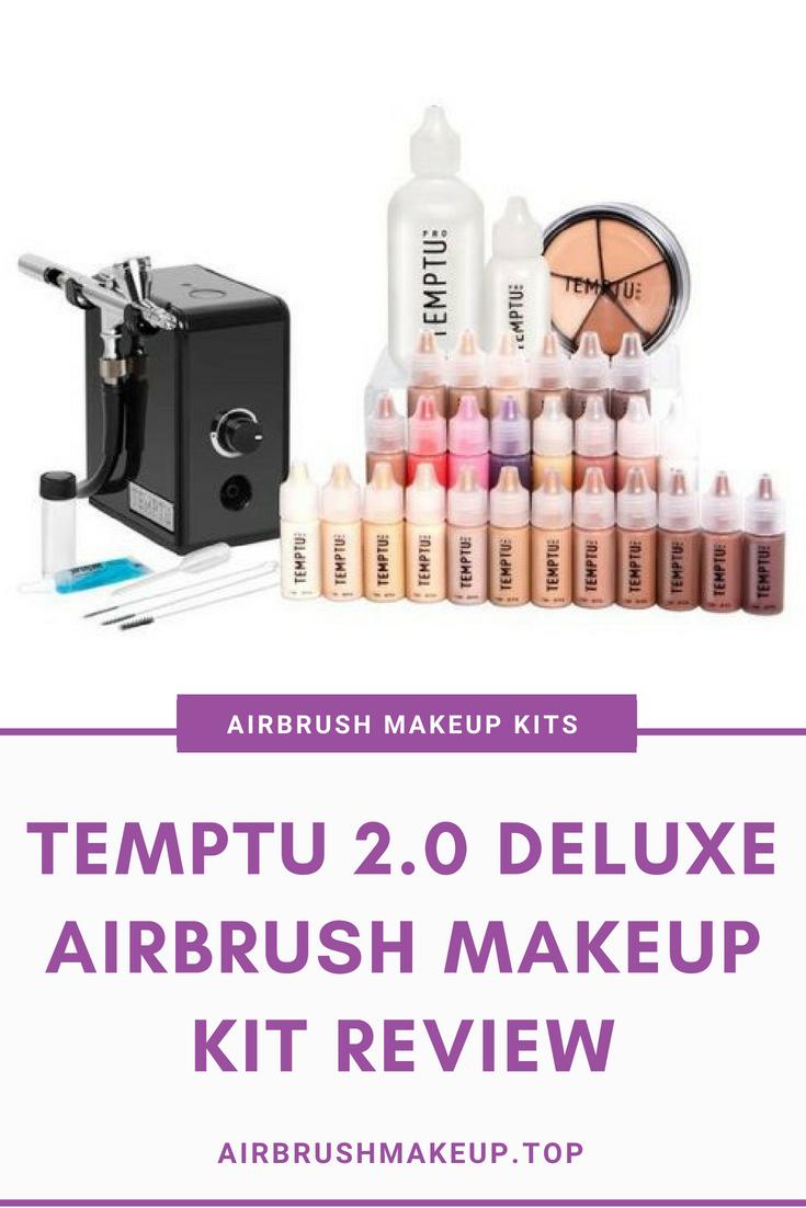 TEMPTU 2.0 Deluxe Airbrush Makeup Kit Review Airbrush