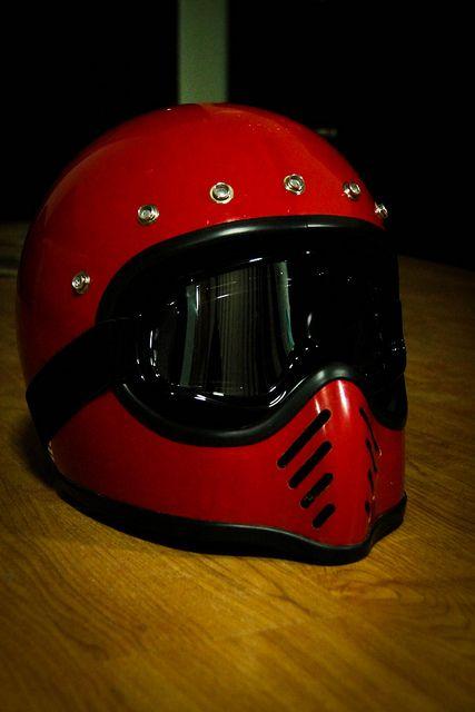 Vintage 1982 Bell Moto 3 Cool Bike Helmets Cafe Racer Helmet Vintage Helmet
