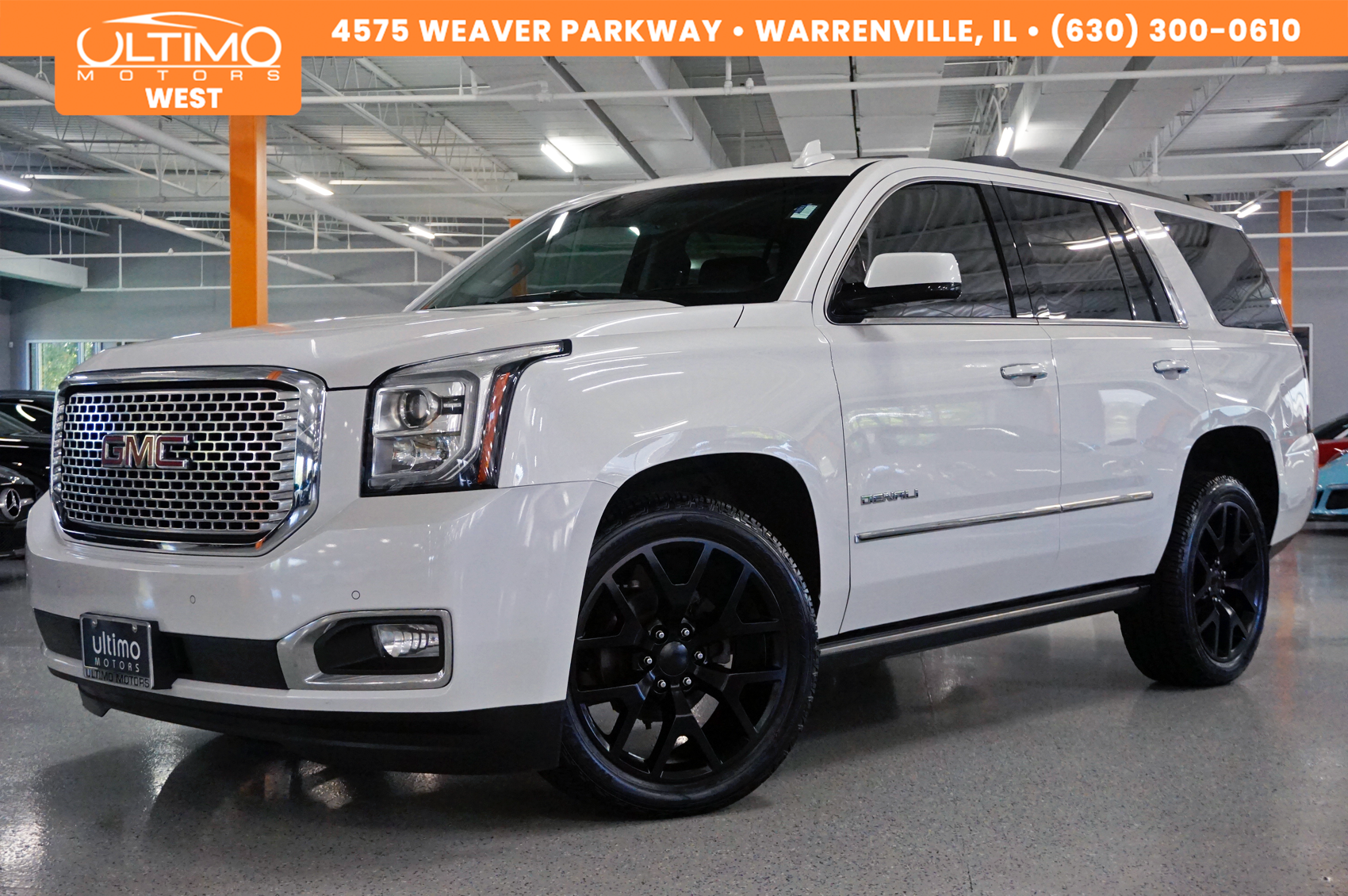 White Yukon Denali Black Custom Wheels Gmc Yukon Gmc Yukon