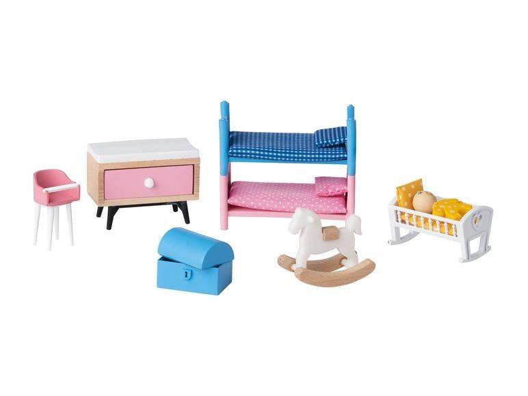 fbf821dfa30ee8 Playtive Junior Puppenhaus-Möbelset Kinderzimmer