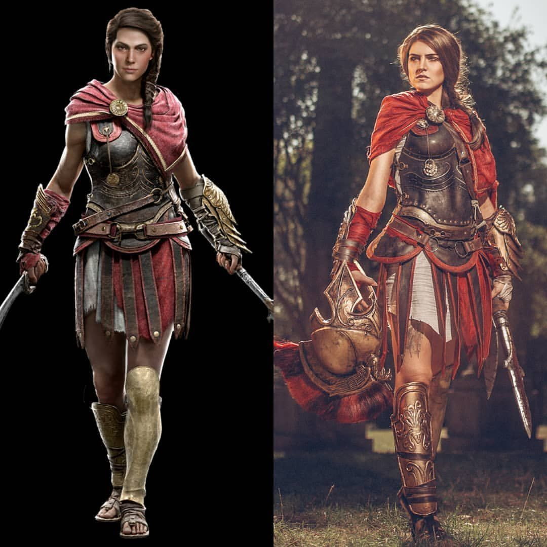 Assassin S Creed Odyssey Kassandra Cosplay Gaming Assassins