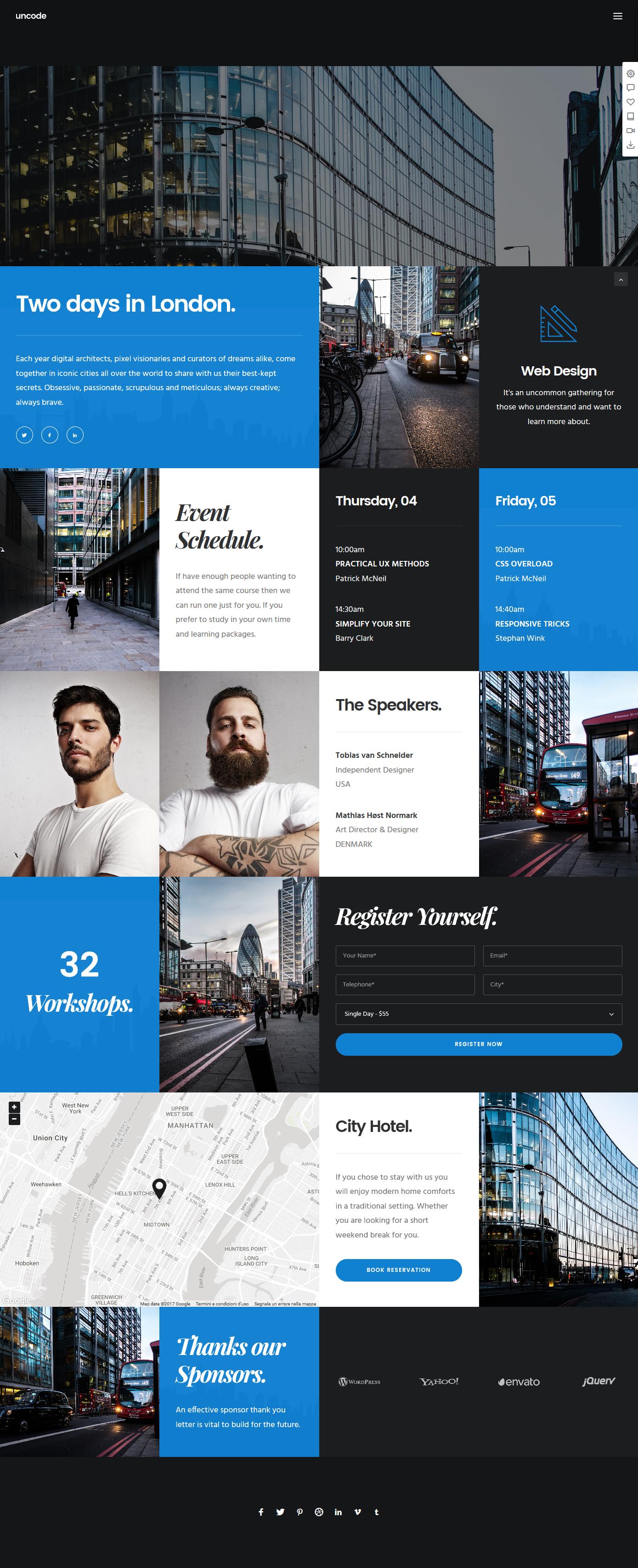 Uncode Creative Multiuse Wordpress Theme Grid Web Design Wordpress Website Design Web Layout Design