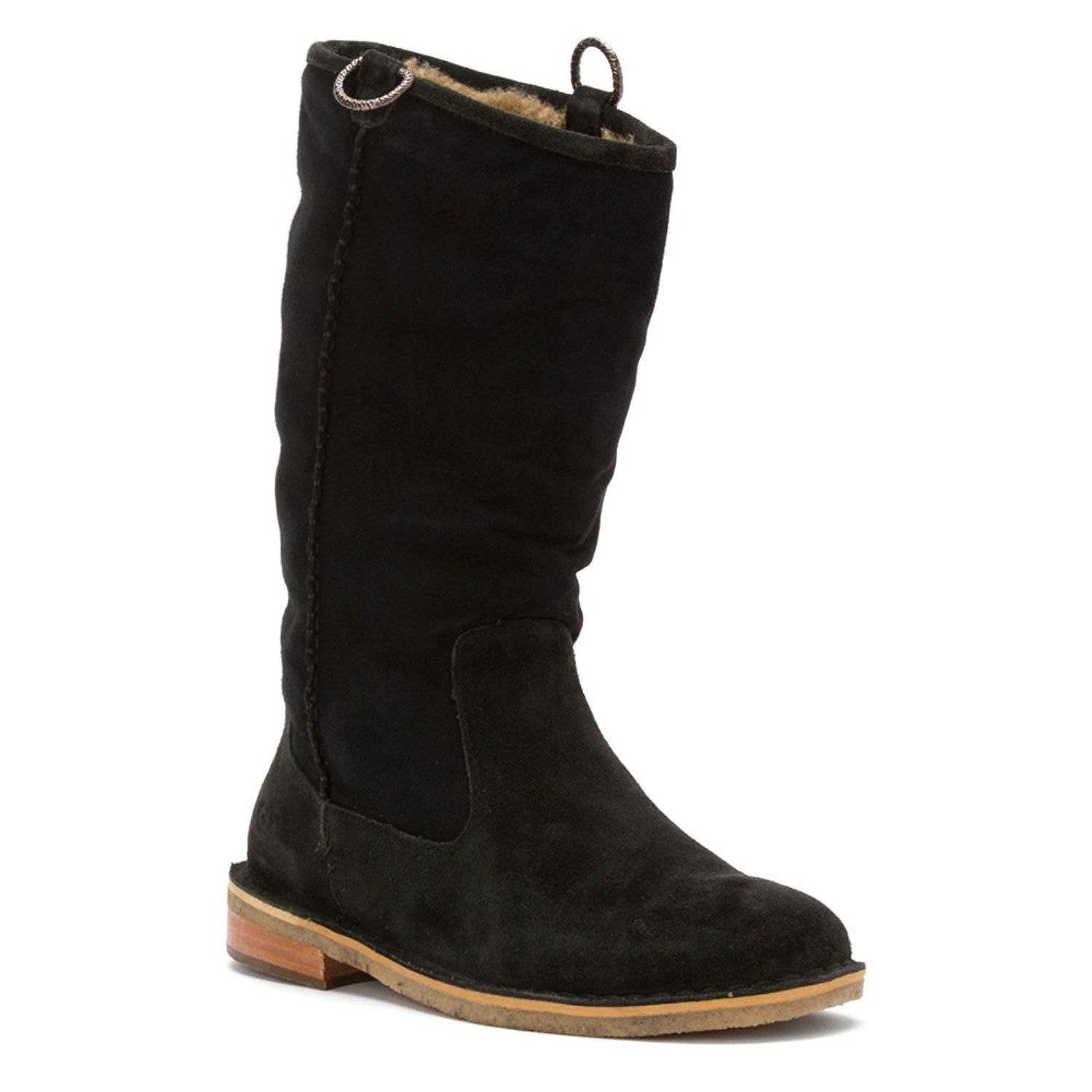 UGG Women's Daphne Black Suede Boot *** This is an Amazon Affiliate link.