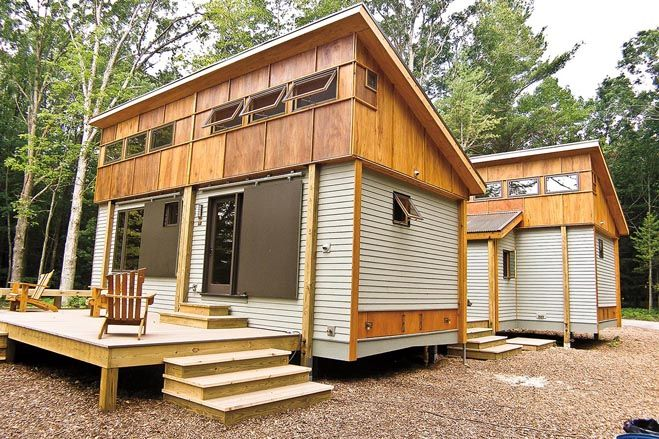 Tiny Homes Carve A Niche Small Wooden House Wooden