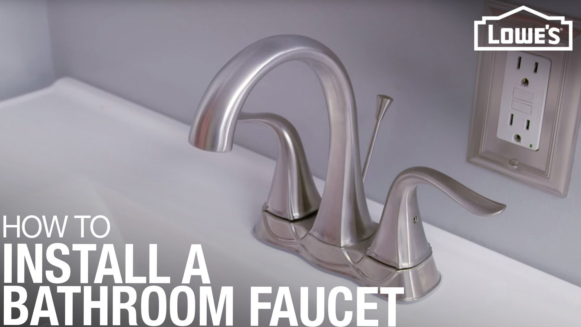 How To Replace A Bathroom Faucet Replace Bathroom Faucet Bathroom Faucets Bathroom Sink Drain
