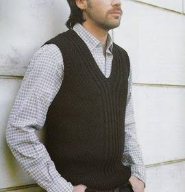 Chaleco Hombre Tejido Men Sweater Knit Vest Knit Men