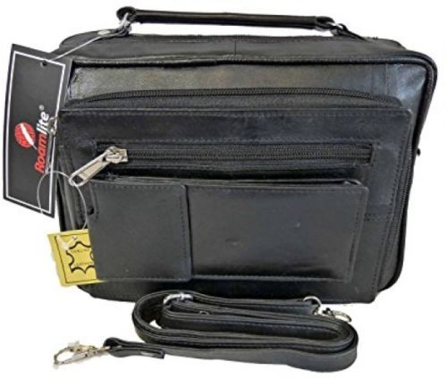 mens mans #leather travel organiser bag - holiday #utility bags - ideal #shoulde,  View more on the LINK: http://www.zeppy.io/product/gb/2/252481369263/