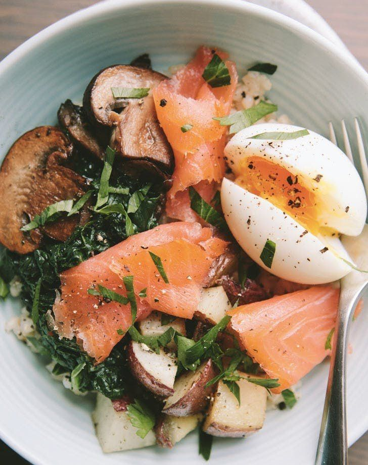 25 Clean-Eating Bowls to Make for Breakfast Lunch and Dinner #fitness #fitnessideas #diet