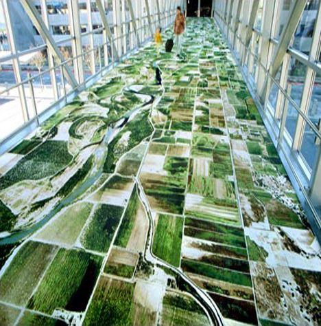 Creative Carpet Flying Carpet Carpet Design Unique Flooring