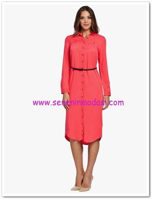 Lcw Mercan Uzun Tunik Elbise 40 Tl Elbise Tunik Kiyafet