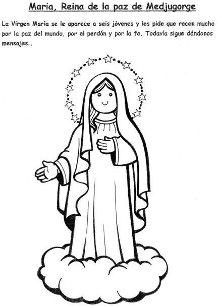 El Rincon De Las Melli Maria Reina De La Paz De Medjugorge Con