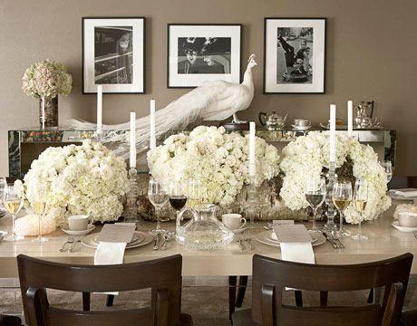 Romantic Table Setting Peacock Deyrolle Paris All Flowers By Krislyn Design