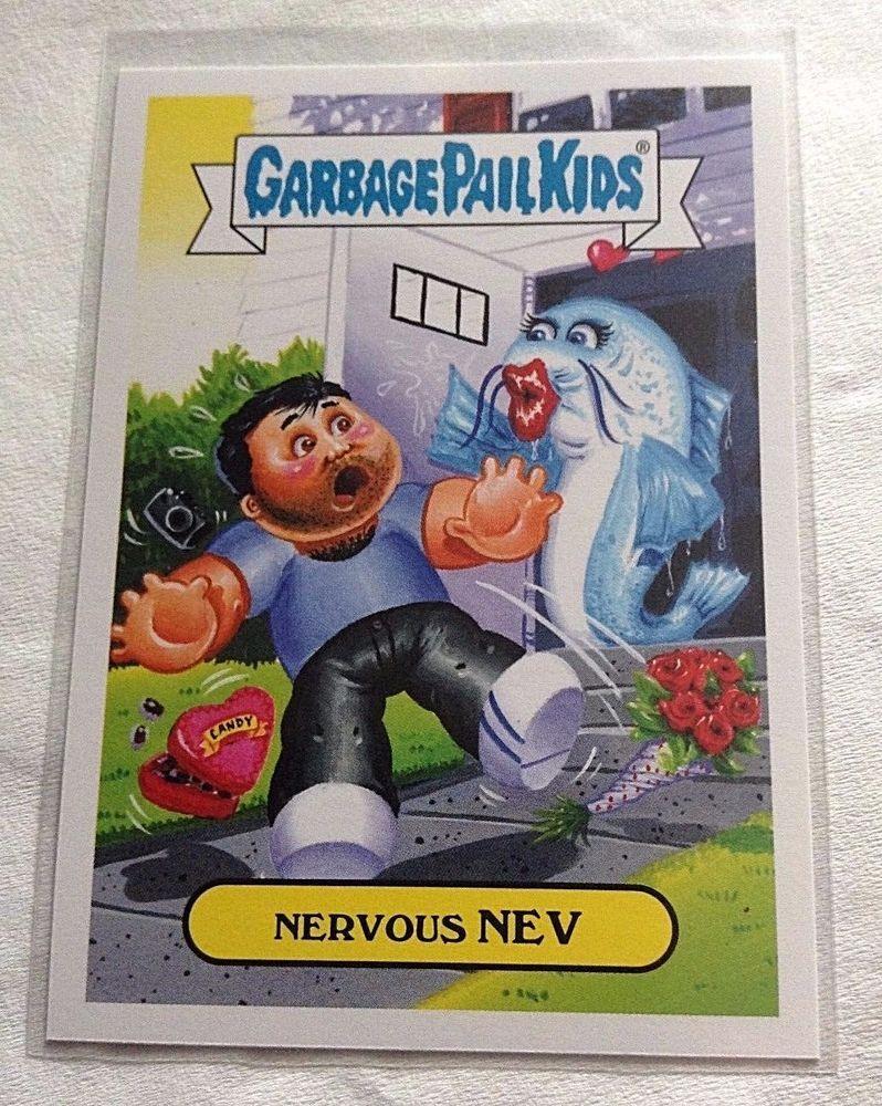 2016 Garbage Pail Kids Nervous Nev 6b Prime Slime Trashy Tv Reality Tv Gpk Topps Garbagepailkids Garbage Pail Kids Cards Garbage Pail Kids Kids Cards