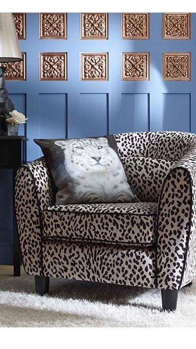 My Leopard Print Design Sofa For Very.co.uk