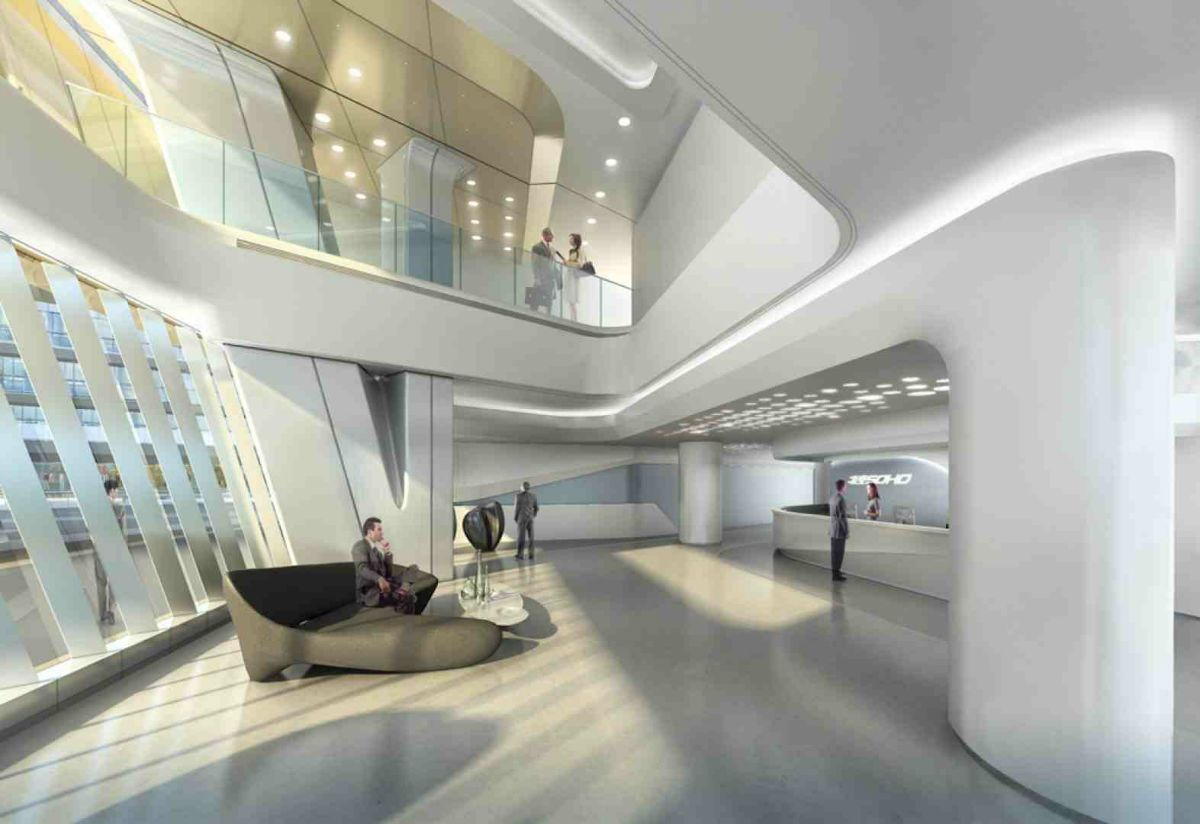 Linkong SOHO building | Zaha hadid, Soho and Building