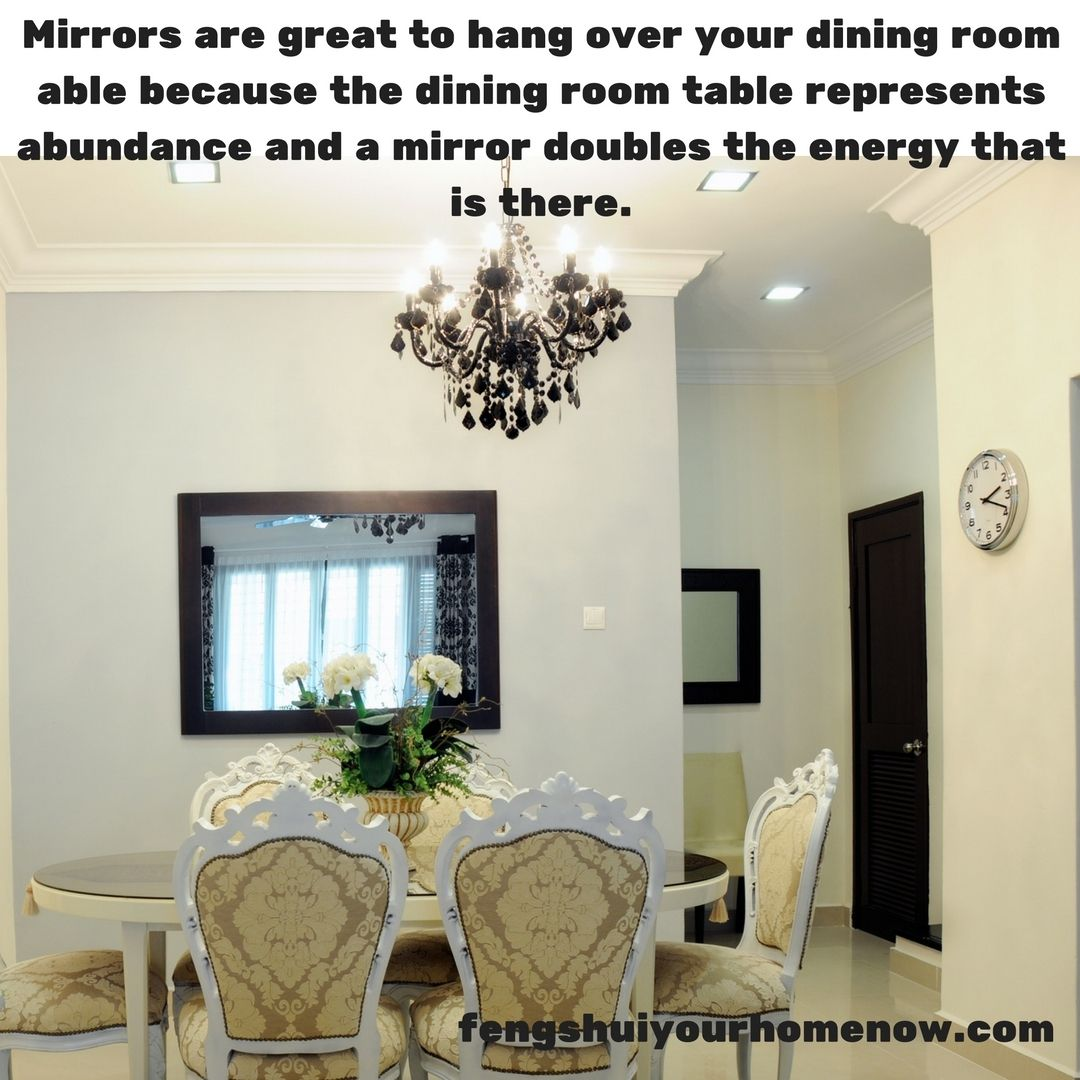 Fengshui Fengshuimirrors How To Feng Shui Your Home Eclectic Dining Room Feng Shui House
