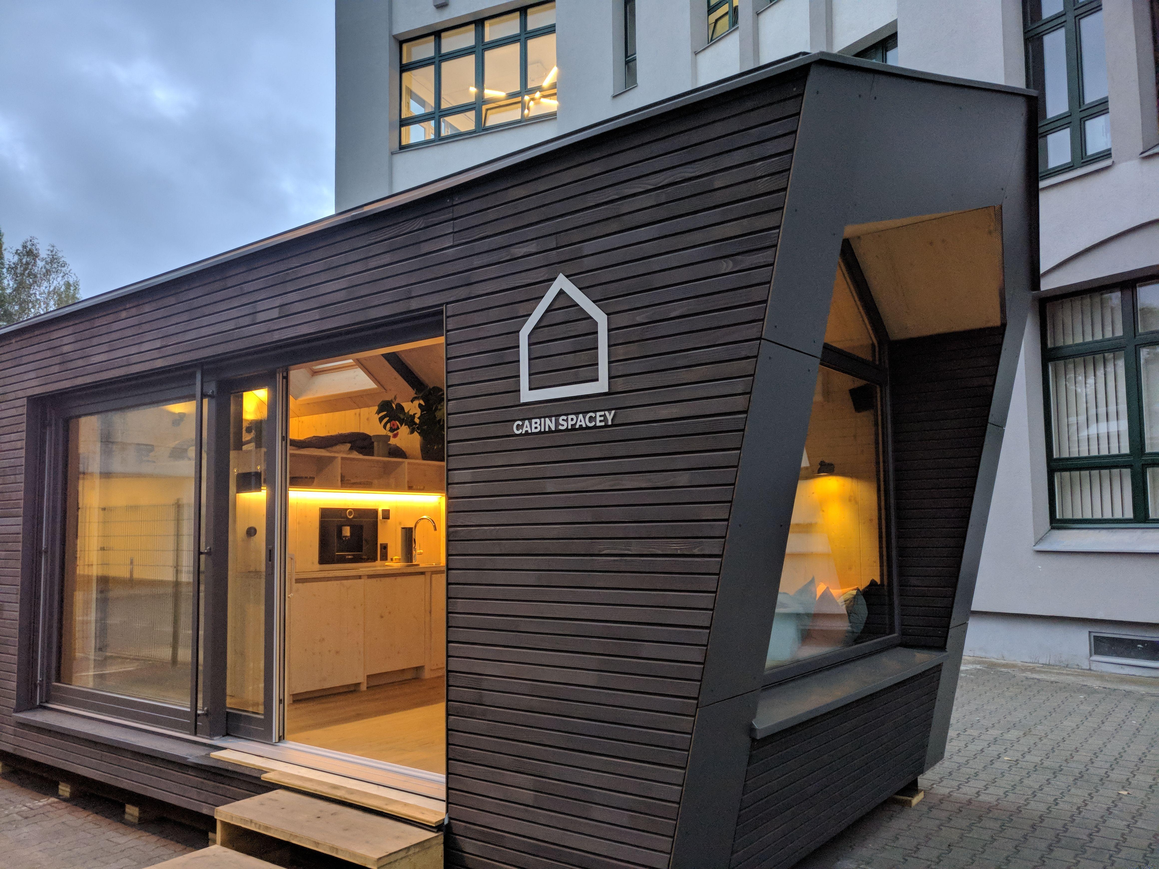 Modulhaus Cabin Spacey Wohnen Haus House