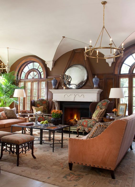 Sun Parlor Villa De Luxe Preservation Home Interior By William W