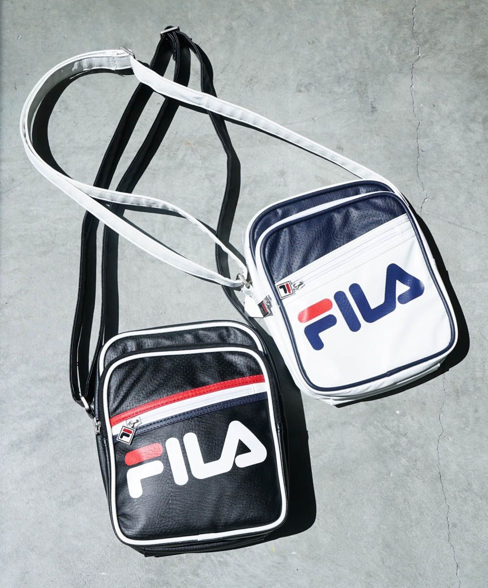 8a50a09fb2 FILA Buster White Shoulder Bag in 2019