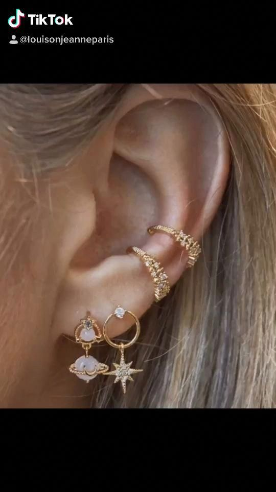 Découvre nos bijoux sur :www.louisonjeanne.com ������ #mode #fashion #bijoux #bijouxcreateur #francaise #streetstyle #blog #look #lookdujour #WeddingDropEarrings