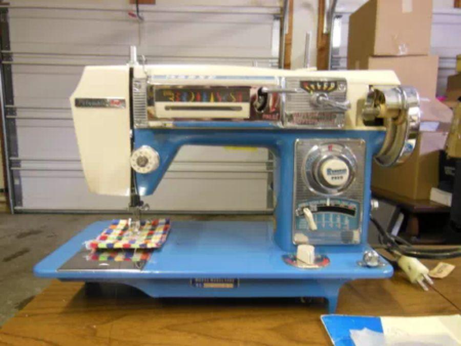 Morse Fotomatic IV Model 40 Sewing Machine Vintage Sewing Fascinating Morse 4400 Sewing Machine