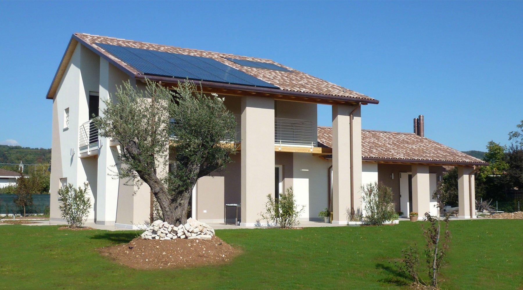 Progetto Casa Privata Bio House Colori Esterni Casa Moderna