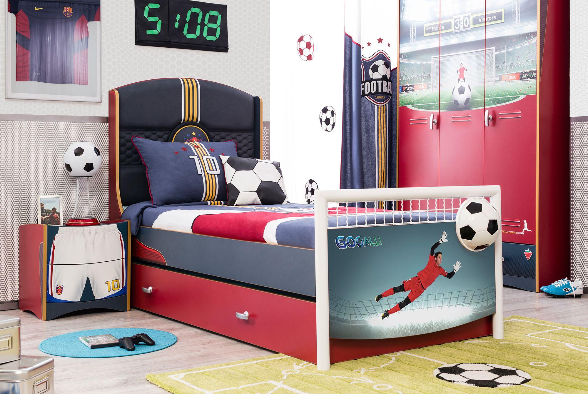 Детская кровать Cilek Football FT1301 (With images