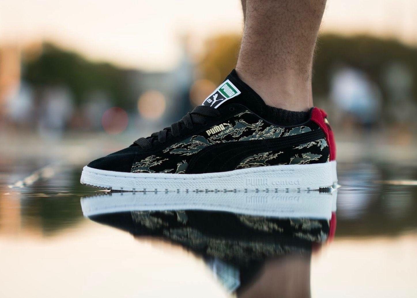 Mita Sneakers x Puma Suede | Puma suede outfit, Sneakers men ...