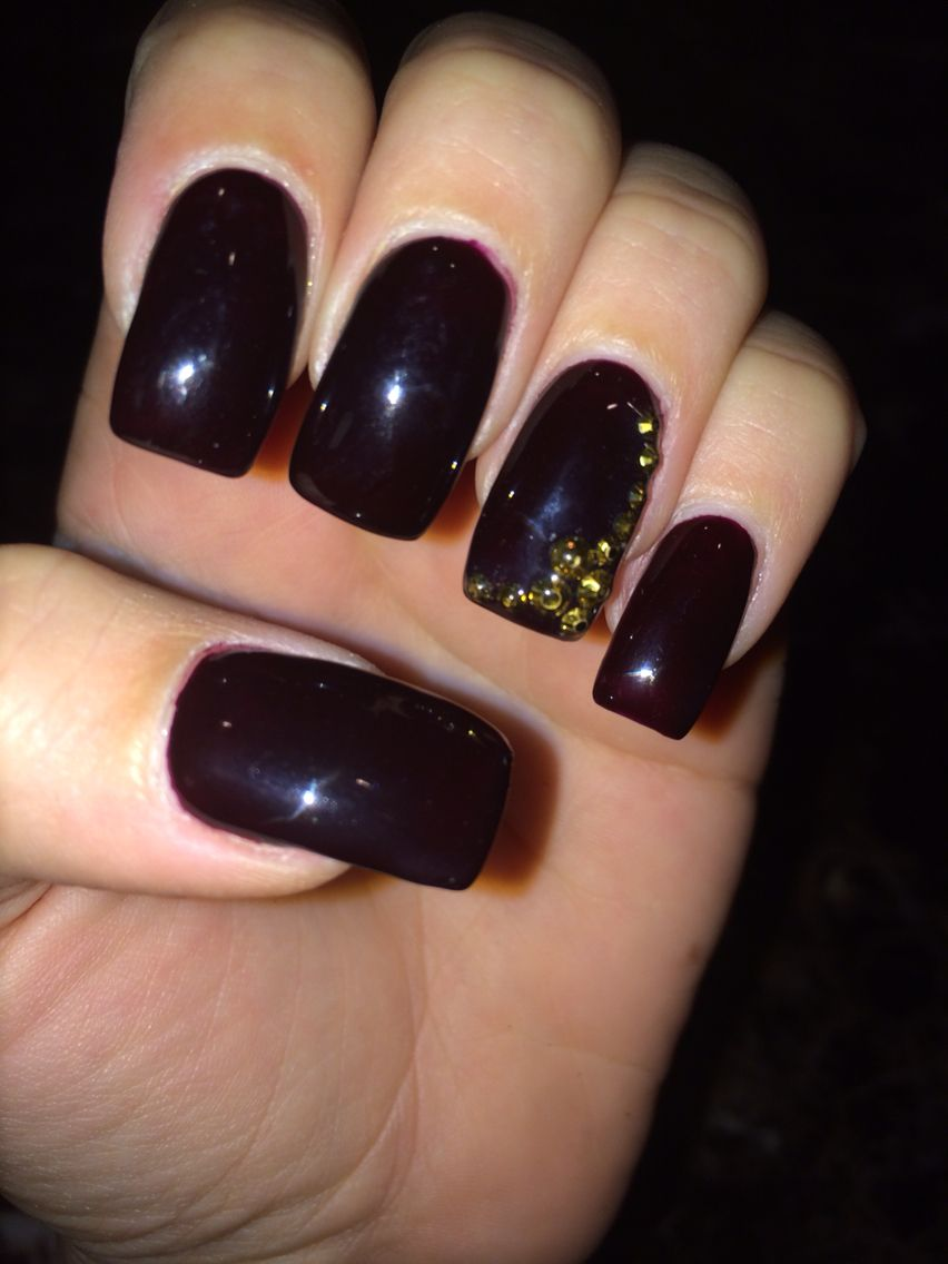 Marilyn Merlot perfect match gel polish.   Nails   Pinterest ...