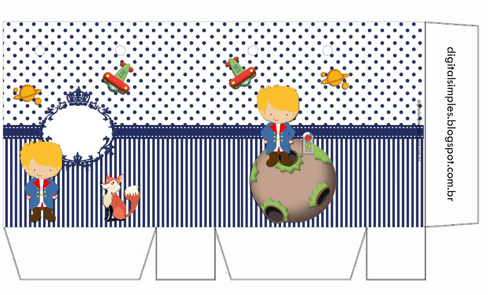 Festa Tema Pequeno Principe Para Imprimir Convite Pequeno