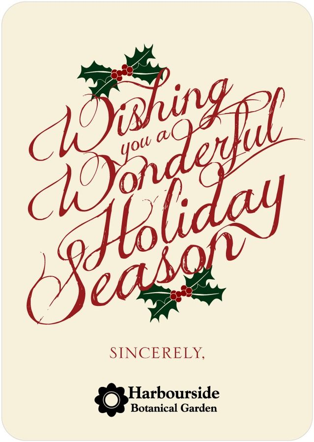 Written Wishes Business Holiday Cards In Spanish Red Ceci New