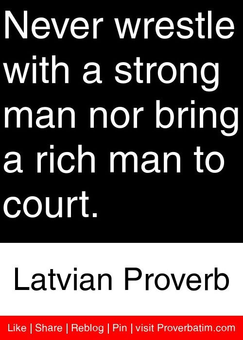 Latvian sayings