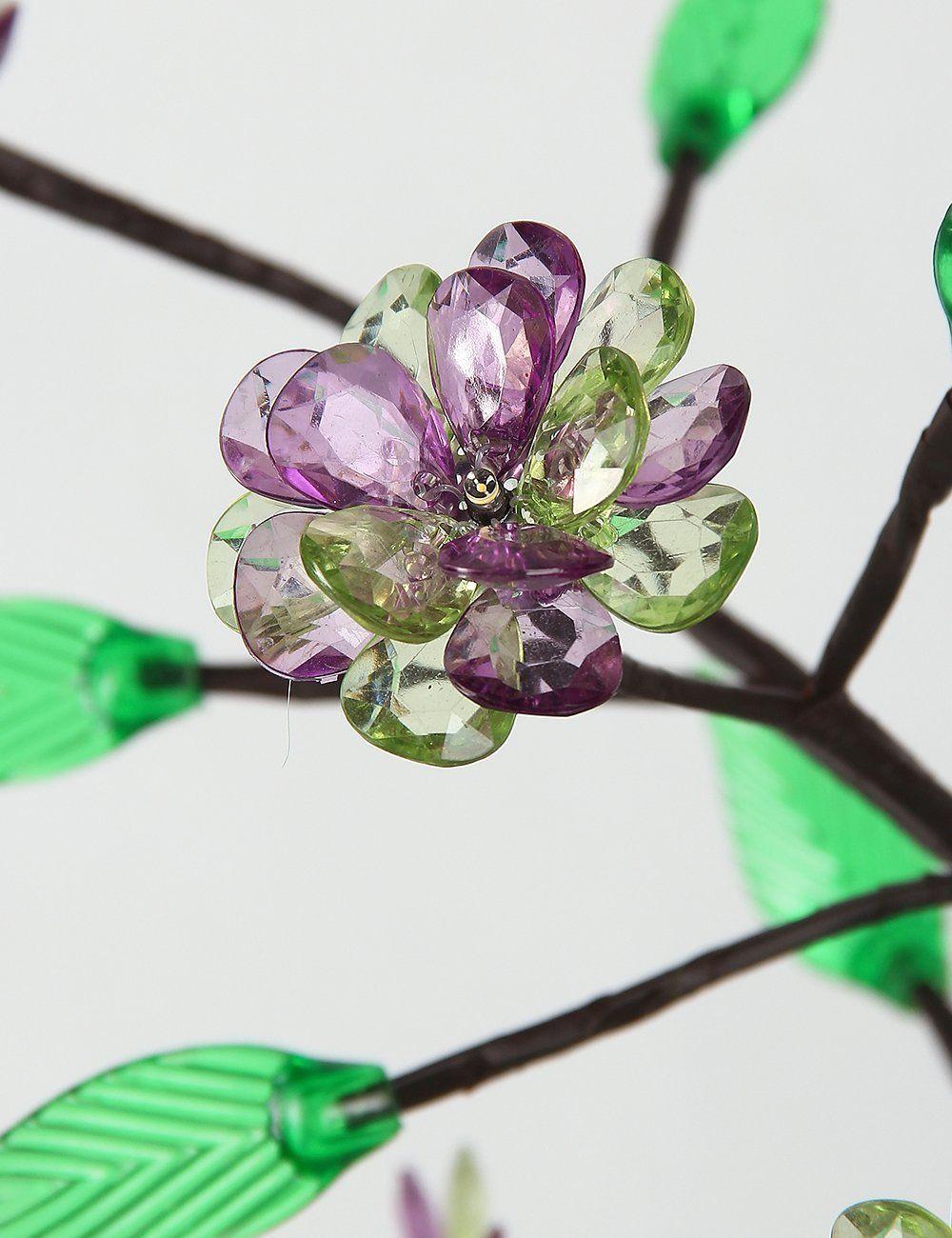 Lightshare Blossom Flower Bonsai Light Clear Purple And Green Flower Blossom Flower Pink Flowers Flowers