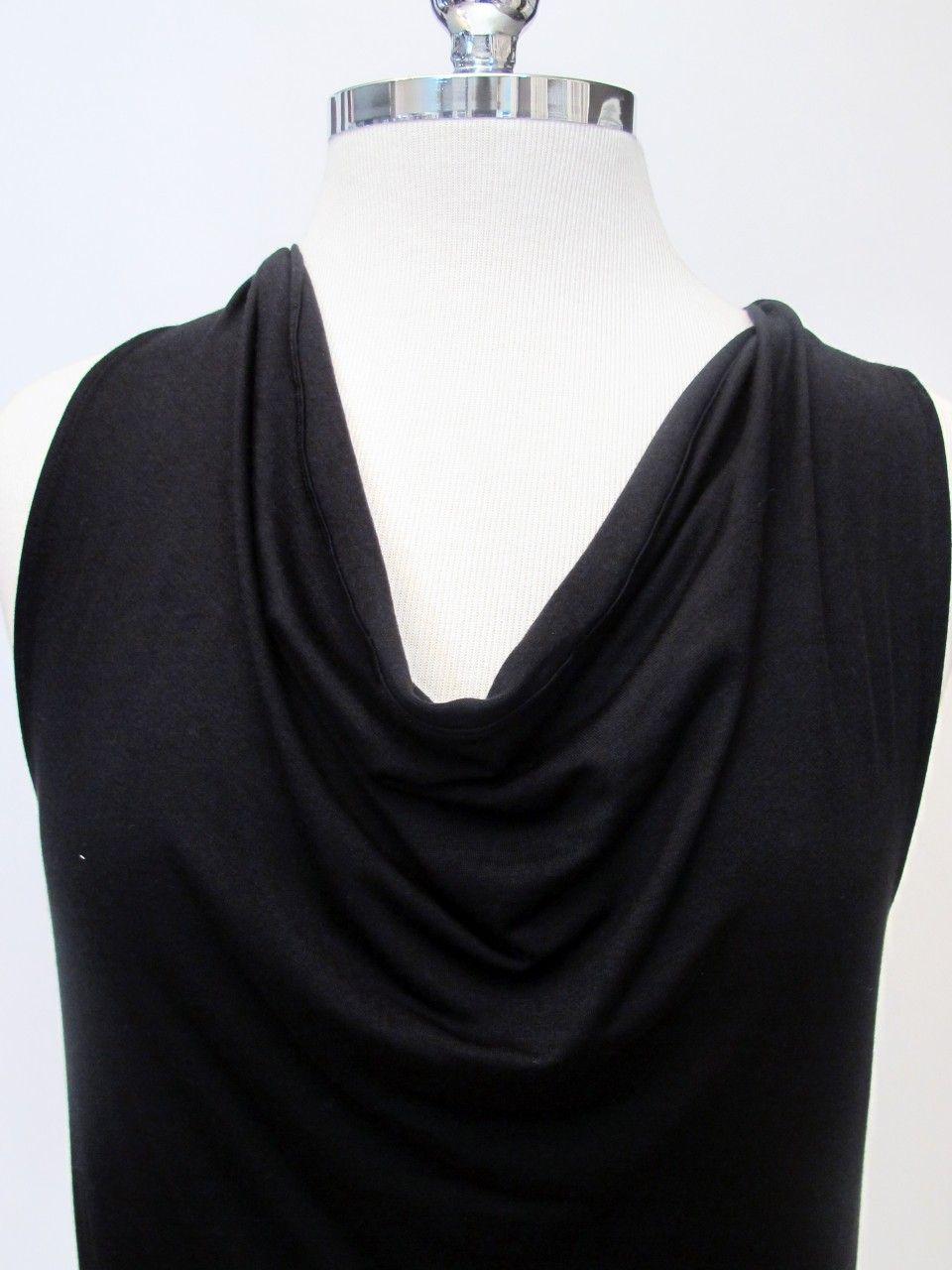 Azura Boutique - Feel the Piece Cowl Tank in Black, $99.00 (http://www.shopazura.com/feel-the-piece-cowl-tank-in-black/)