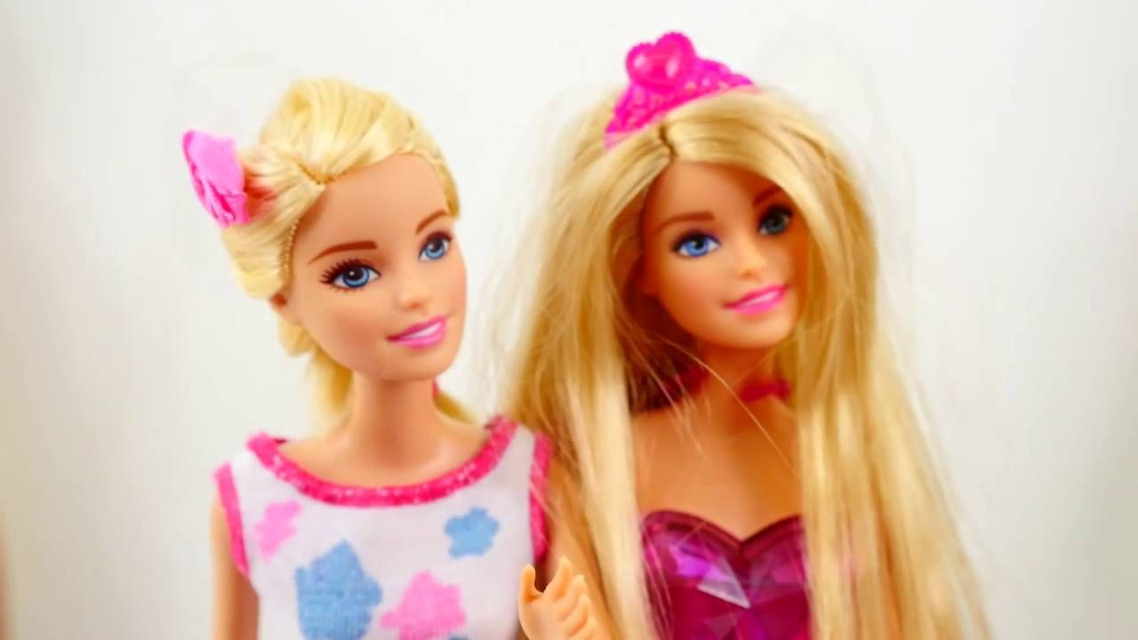 Kiz Yildiz Sema Ve Ayca Aksesuar Kutusunu Aciyorlar Barbie Susleme Oyunu Barbie Kizlar Bebek Oyuncaklari