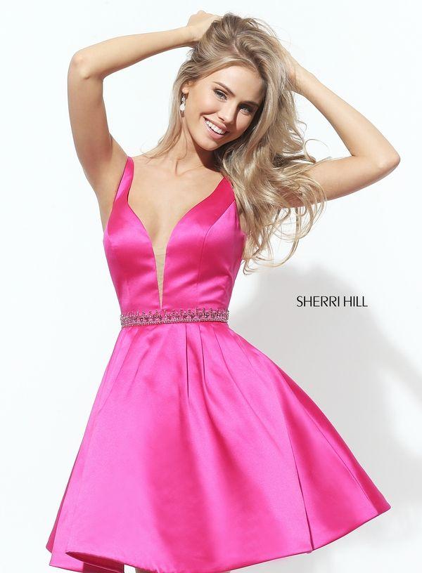 Sherri Hill 50495 | GIRLY EVENING DRESSES ♡ | Pinterest | Rosas y ...