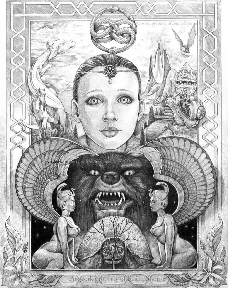 Ode to the Neverending Story by bookstoresue | Grey Scale ...