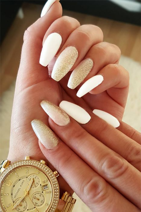 41 Classy Ways to Wear Short Coffin Nails in 2020   Short