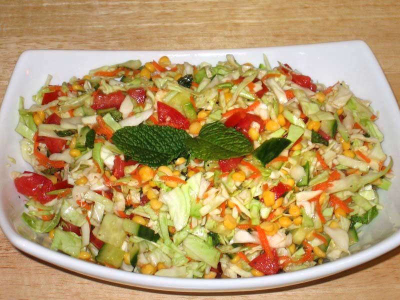 Cabbage chana dal salad manjulas kitchen indian vegetarian cabbage chana dal salad manjulas kitchen indian vegetarian recipes cooking videos forumfinder Image collections