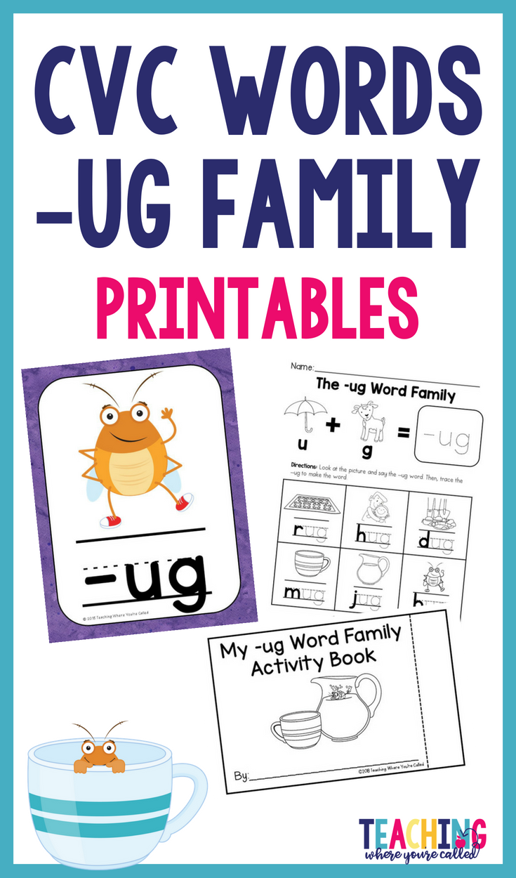 Help Your Students Learn Their Cvc Words With This Printable Activity Pack These Activities Help S Word Family Activities Teaching Phonics Phonics Instruction [ 1250 x 735 Pixel ]
