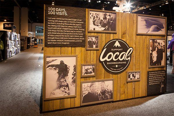 how to build a trade show booth wall