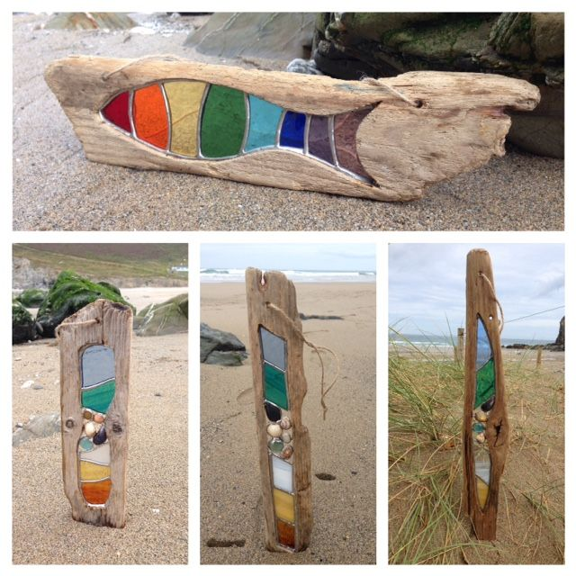Clare wainwright glass art glass and etched pictures for How to make stained glass in driftwood