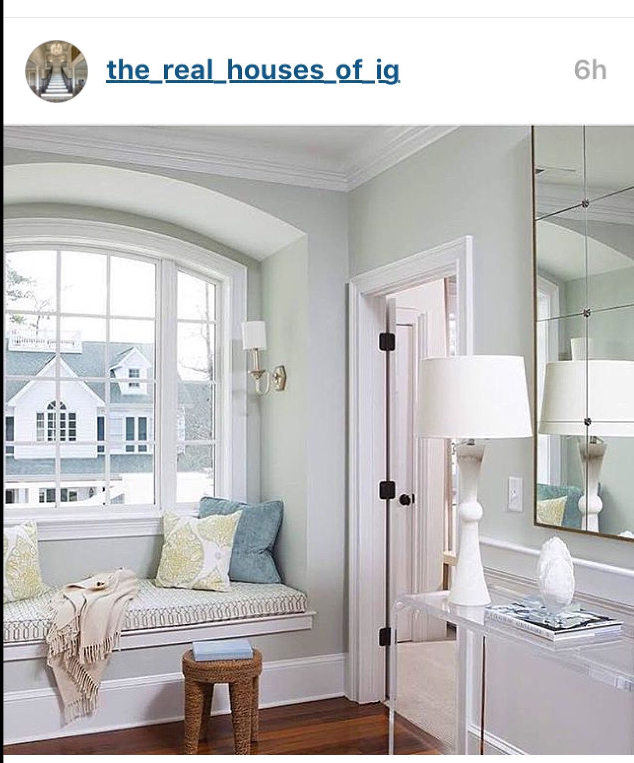 Gray Blue Paint Colors: Paint Color ...Gray Cashmere By Benjamin Moore